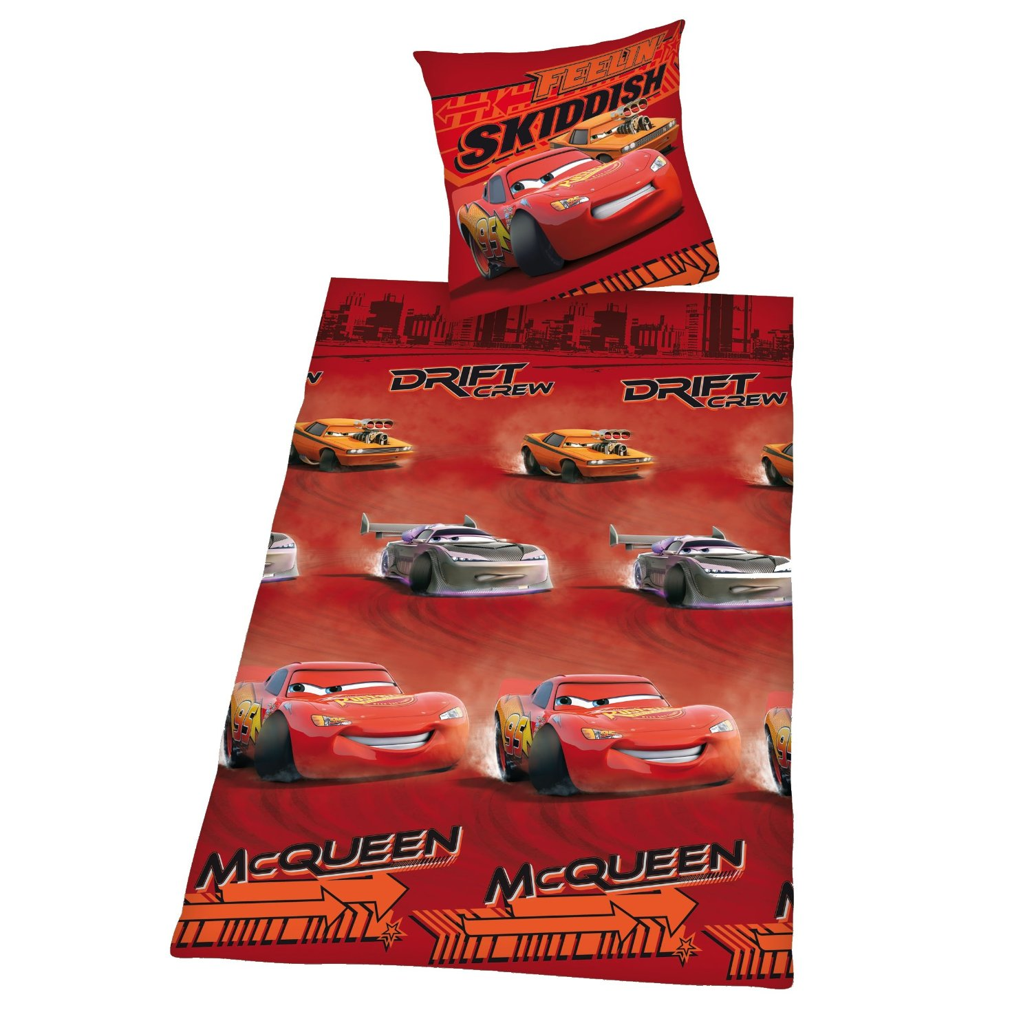 disney cars bettw sche renforce cars lightning mcqueen 135x200 herding ebay. Black Bedroom Furniture Sets. Home Design Ideas