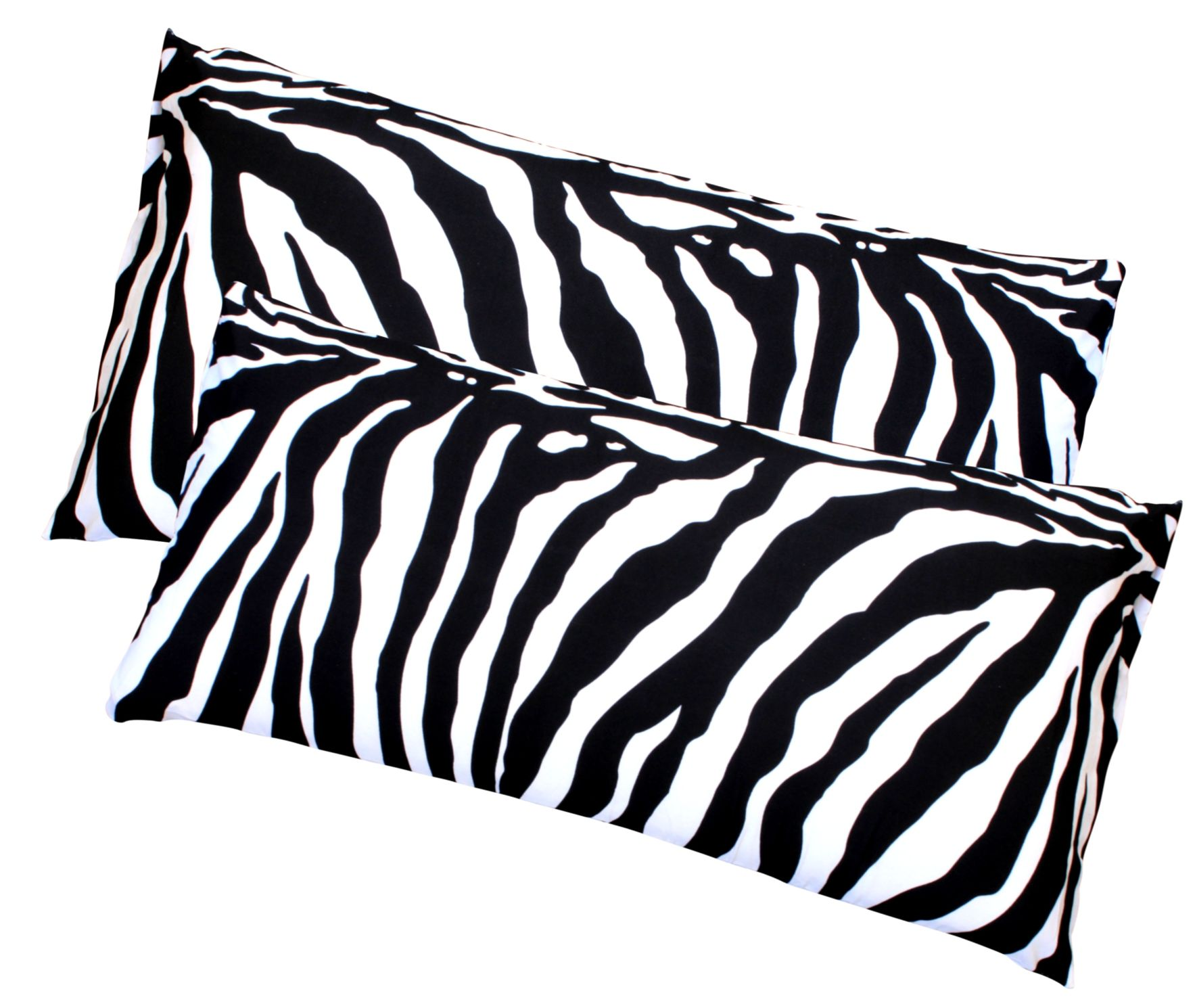 2x zebra kopfkissenbezug mikrofaser kissenbezug. Black Bedroom Furniture Sets. Home Design Ideas